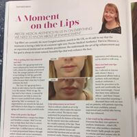 Lip Enhancement Precise Medical Aesthetics for Scottish Woman Magazine